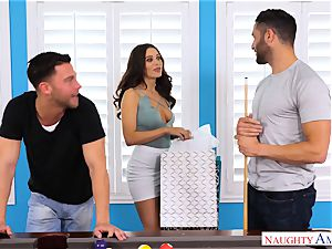 Lana Rhoades smashing and deepthroating