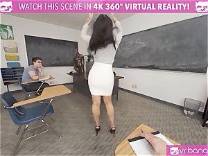 VRBangers teacher Romi Rain Getting slammed By A man