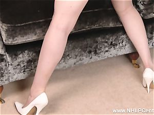 huge-chested sandy-haired drains in underwear antique nylons