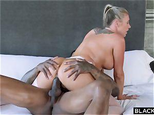 bi-racial porn with additional class pornographic star and ebony stud Jason Luv