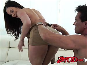 Kendra passion attacks a huge culo dick with all her fuck-holes