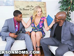 BLACKSONMOMS - Julia Ann Wins three yam-sized rewards (xa15147)