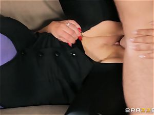 Nikki Benz and Bridgette B get filthy with the security dude