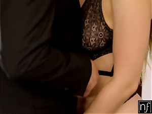 NF buxom- Lena Paul Surprises Her manager At Home S6:E11