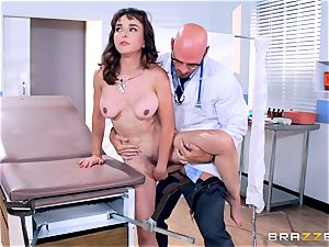 Cytherea is left unloading as she visits the physician