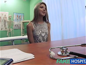 FakeHospital timid cute Russian cured by spunk-pump