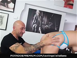 audition ALLA ITALIANA - newbie anal invasion gape and pound
