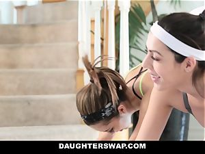 DaughterSwap - scorching daughters-in-law Get stretched