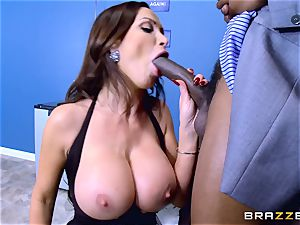 Elections and ample black pecker erections for Nikki Benz