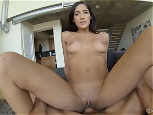 Chloe Amour point of view blowing and poking