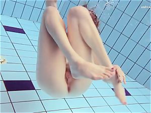 Czech girl Nastya Volna hairy naturist