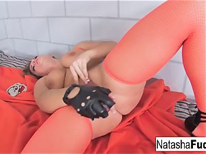 huge-boobed Natasha super-cute demonstrates Off Her outstanding curves