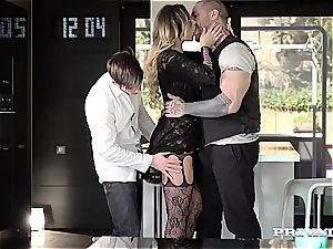 gorgeous underwear stunner Anna Polina gets plowed