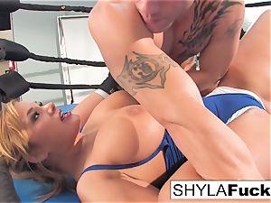 splendid Shyla gets some teaching