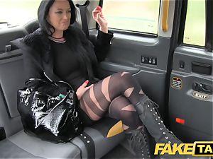 fake cab Local escort ravages taxi fellow