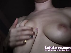 calmly pov pounding right next to wifey in couch
