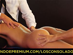 LOS CONSOLADORES - ideal blondies 69 in gang hook-up