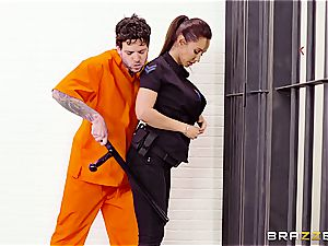 Don't glob the soap in Brazzers jail