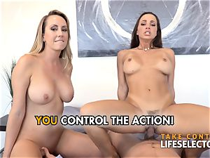 point of view hump adventures with Abigail Mac and Brett Rossi