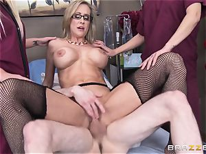 Rock rock hard patient gets screwed by medic Brandi love