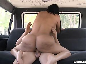 Galilea gets porked on Wheels