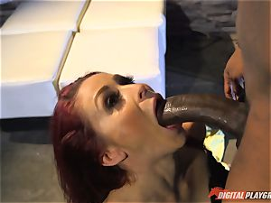 Monique Alexander vagina thrashed nut sack deep then creamed on her face by bbc