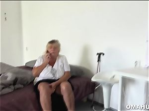 crazy grannie luvs eating nubile pussy