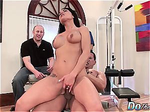 super hot wife gets her married arse stuffed in front of hubby