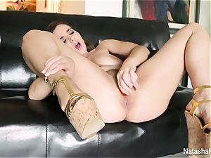 Natasha ultra-cute comes back with a marvelous solo episode