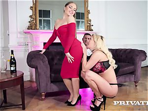 Private.com fancy honeys in anal 3some