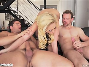 German star Kagney Linn Karter - hard-core 3 way