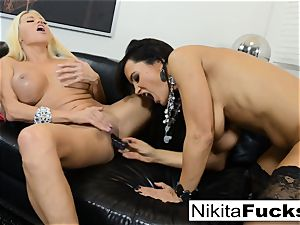 torrid Russian Nikita Von James boinks pornography vet Lisa Ann