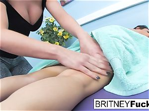 Charley haunt and Britney Amber smash