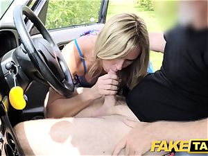 fake cab Mum with all-natural udders gets yam-sized british chisel