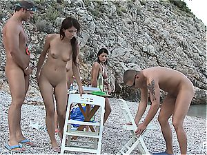 insane gang bang-out tournament on the beach part 4