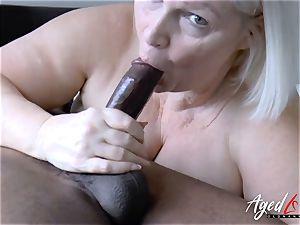 AgedLovE Lacey Starr gonzo bi-racial shag