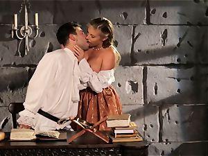 Fairytale honey Samantha Saint gets to screw her prince