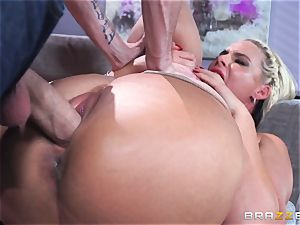 Phoenix Marie gets nailed in the booty by humungous dicked Danny D