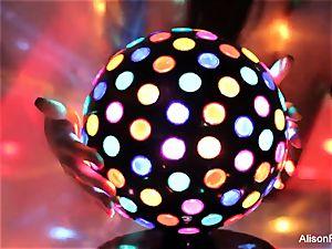fabulous ample jugged disco ball stunner