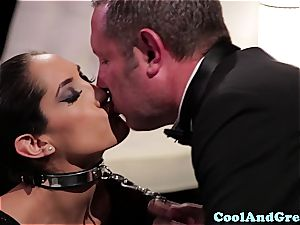 extraordinaire Adrianna Luna and Chloe Amour make out after threeway