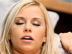 blond Lola Myluv gets super-steamy and mischievous by herself