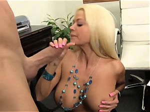 switch roles railing Nikita Von James with thick large manstick