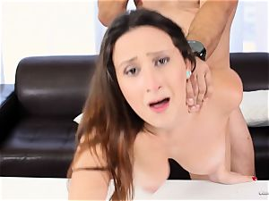 wondrous newcummer Ashley Adams works her audition perfectly